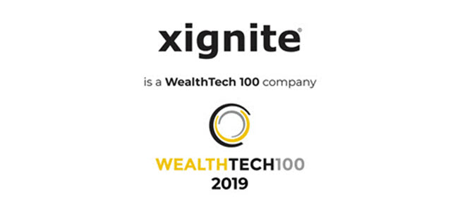 Xignite Named to WealthTech 100