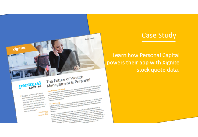 Personal Capital Case Study