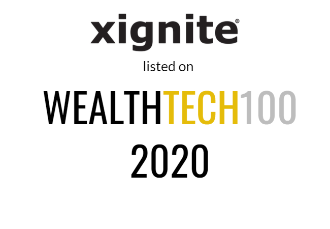 2020 WealthTech 100
