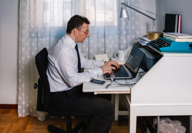 Market Data Executives Working From Home