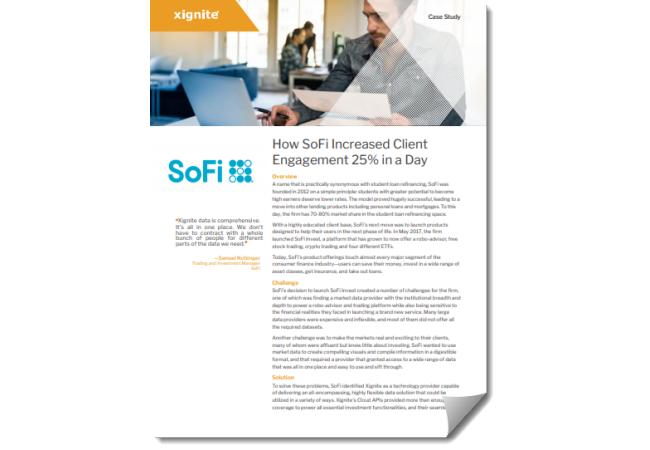 SoFi Case Study