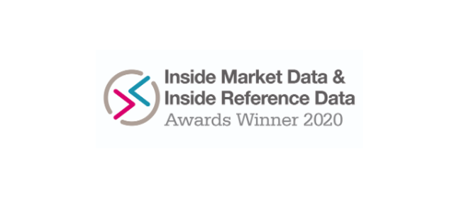 Inside Market Data & Inside Reference Data Awards.
