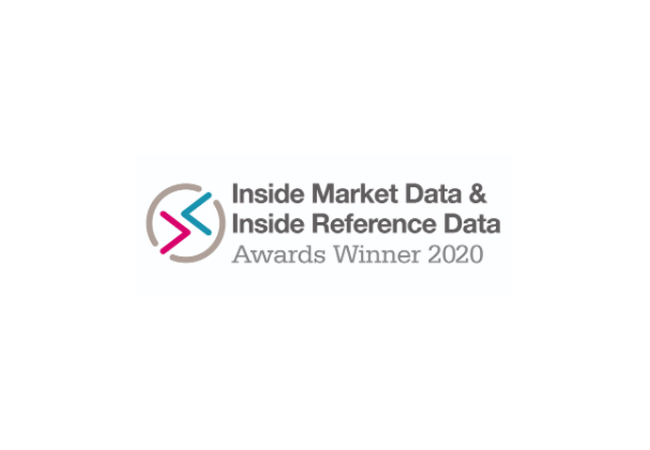 Inside market Data Award