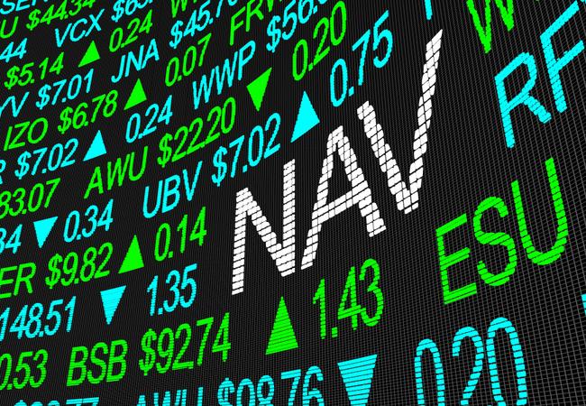 Xignite Net asset valeue (NAVs) API