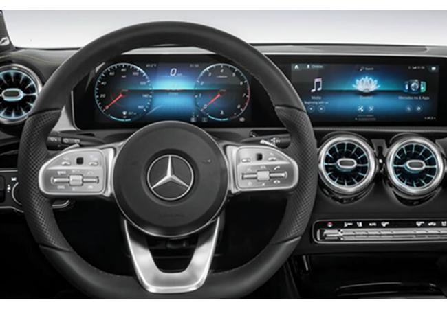 Xingite Market Data Displayed in a Lexus